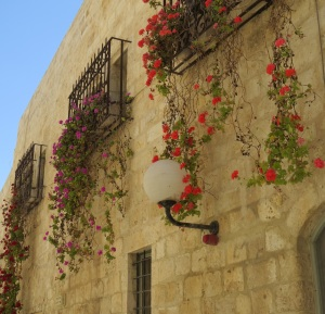 Street view in  Jerusalem's Old City